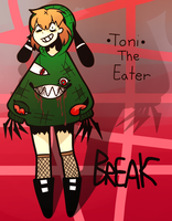 ToniTheEater by KieCookie