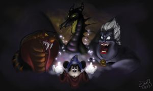 A Nightmare Fantasmic by Surnaturel
