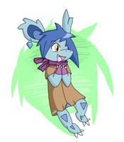 Gift: Myra Doodle by ChilaTheDragon