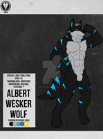 Reference Card - Albert Wesker Wolf by Ray-Akim-Blau