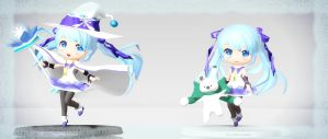 .::.2014 Snow Miku.::. by MichiKairin