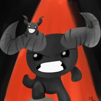 FAN ART FRIDAY: Binding of Isaac by ApothecaryAphid