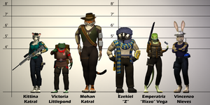 Height and Build Chart by PlasticFrogCG