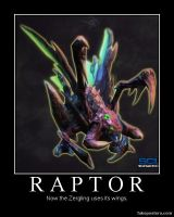 Starcraft II Heart of the Swarm Raptor by Onikage108
