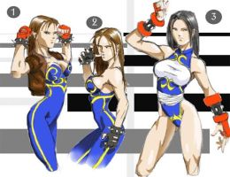 Chun Li Designs by GaraKan