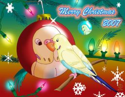 2007 Christmas Card by DestroyahDes