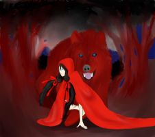 The Little Red Riding Hood by Ismael-PX