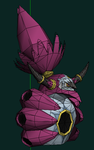 Hoopa Unbound papercraft Wip by javierini