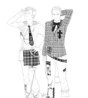 Glee: Klaine - All dressed up by cacell