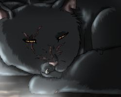 Death's Yellowfang-If you Believe-with speedpaint by danituco