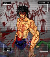 Yagami Bloodstained With cam effect by YagamiEmer