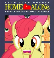 Apple Bloom is Home Alone by 1dkv