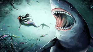 Sharkattack by Ratique