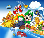 Super Luigi Land by WillCayfyeld