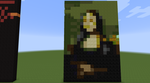 Minecraft Gioconda by blizzardicus
