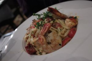Seafood Linguini by FuzzyButtPhotos