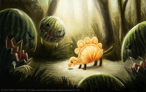 DAY 247. Ambush (Part 2) by Cryptid-Creations