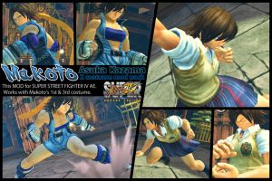 SSF4AE Makoto - Asuka costume MOD pack by dsFOREST