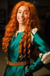Supercon 2013 - Merida cosplay by stephydraws