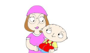 meg and stewie by naniloke