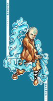 Aang: The Avatar by Zeamay