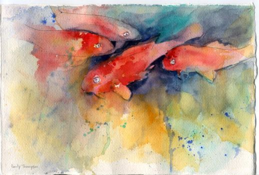 Watercolor by tylime