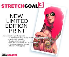 PINK HAIR GIRLS Stretch Goal 3 by Zatransis