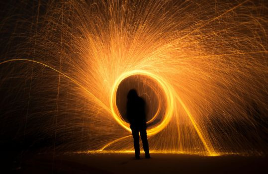 Dance with the sparks by jacekson