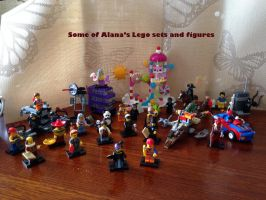 Some of Alana's Lego sets and Figures by Kittychan2005