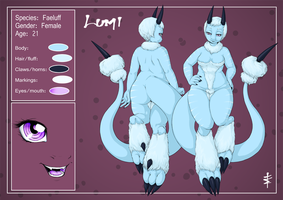 Lumi - reference sheet by tt-n