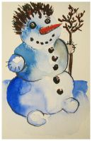 Snowman nr 3 by pagone