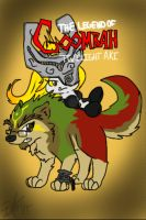 Gaijin Wolf and Midna Aki by BKcrazies0