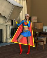 Supergirl Moves In by MickLee99