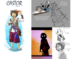 Character Design-Castor by Mumy-chan