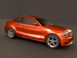 Bmw 1 series coupe by koleos33