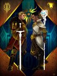 Dragon Age Inquisition - Cullen x Dorian by maXKennedy