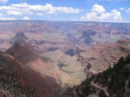 Grand Canyon- Morning view by GarnetWings