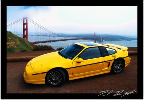 Golden Gate Fiero by NitzkaPhotography