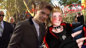 Selfie with Thomas Sangster -////- by ArthurkunG