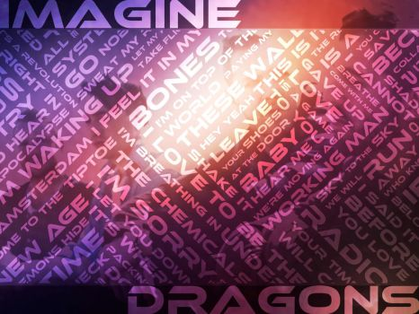 Imagine Dragons Night Visions Wallpaper by MangaGirl12