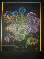 Sunflowers Drawing by Aidan98