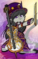 Steampunk Octavia Colour by bunnimation