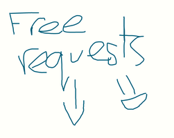 Free requests! by RidingBicycles