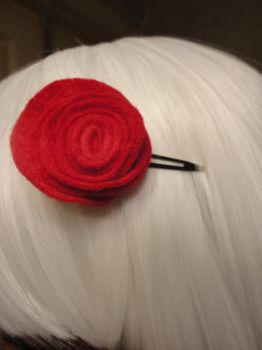 Rose clip by LunaBell
