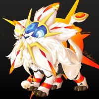 Pokemon Sun and Moon : Solgaleo grubbin cutiefly