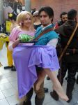 Rapunzel and Flynn (Tangled) Cos-Mo 2015 by Groucho91