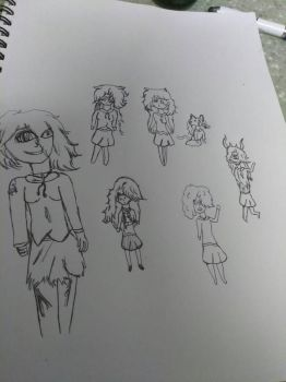 different versions of myself by LexisbloodYT