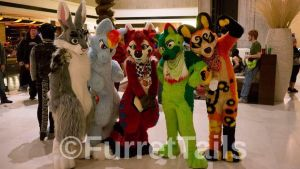 Cutest Suiters at MFF 2013! by FurretTails
