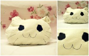 cat plushie by SoraEatAKeex