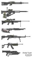 Rifles from Pimp My Gun 4 by c-force